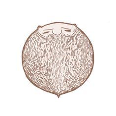 What do I do now that Movember's over? www.anditisgood.com #beard #design #movember #hair #illustration #art #moustache