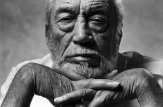 Norman Seeff - John Huston - Photos - Social Photographer's Portfolios #inspiration #photography #portrait