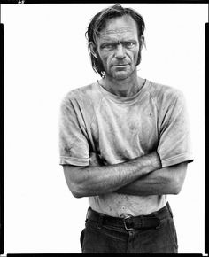 98.24_avedon.bill_curry_drifter_interstate_40_yukon_oklahoma_june_16_1980_640.jpg 640×786 pixels #photography #richard #avedon