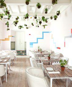 Multifunctional Space – a Restaurant and Art Center by 51-1 arquitectos - #restaurant, #restaurantdesign,
