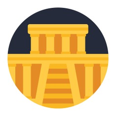 See more icon inspiration related to monument, ancient, architecture and city, temple, monuments, building and construction on Flaticon.