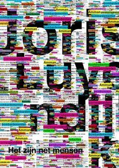 Overview posters '08 - '09 on the Behance Network #print #typography #helvetica #poster