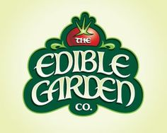 edible garden #garden #edible #design #logo