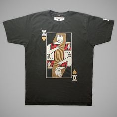 Queen Of Hearts | T-Shirt | Victate #print #tee #illustration