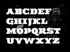 Type › Yomar Augusto #yomar #draft #type #sketch #typography