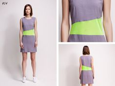 asu aksu / collections / ss2012 borderline no 14 #asu #white #collection #aksu #borderline #grey #summer #fashion #neon