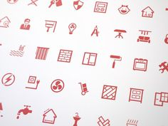Glyph Collection on Behance #icon #icons