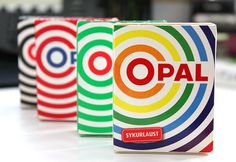 Opal #packaging #licorice #colour #opal