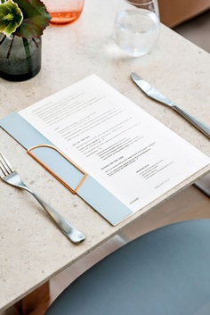 The corporate design for Botanist, designed by Glasfurd & Walker, claimed the title of Best of the Year Interior Design Awards in the brand and marketing category. Find more of the most beautiful designs on mindsparklemag.com