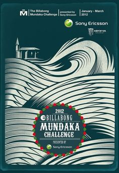 Billabong Mundaka Challenge Waiting Period « TIDE Surfmagazin #surf #lifestyle #print #billabong #illustration #poster