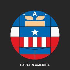 Projekt Sirkols #round #captain #circles #avengers #marvel #america