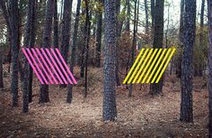 Colorful Street Art Installations by Maser-7 #installation #maser #art #street #colour