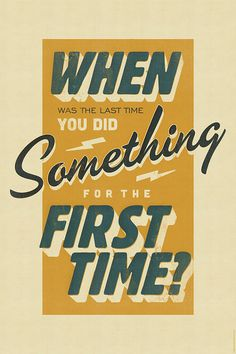 When was the last time... #design #quality #typography