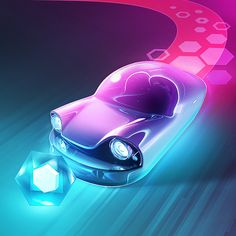 #beatracer #neon #car #icon #mobile #game #jmchoe
