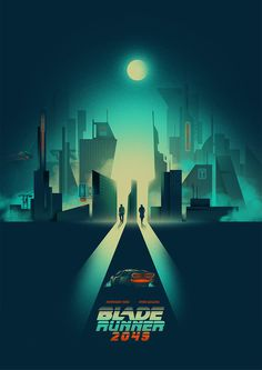 Blade Runner 2049 Poster by Jake Gunn