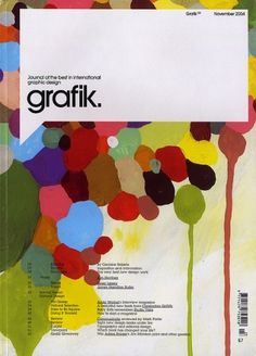 All sizes | Grafik: Issue 123 | Flickr - Photo Sharing! #grafik #design #graphic #avant #cover #garde #magazine