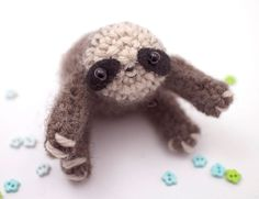 #sloth #crochet #craft #handmade #cuteness