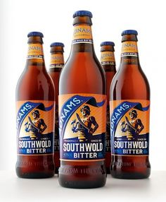 Adnams Southwold Bitter : Lovely Package . Curating the very best packaging design. #packaging #beer #illustration