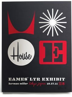 House Industries - Blog #miller #house #print #industries #tokyo #screen #poster #herman #eames