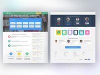 StudySoup Homework Help Landing Page Design
