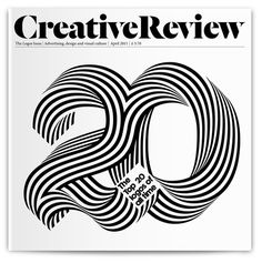 Creative Review on Behance #spiral #bw #number #20