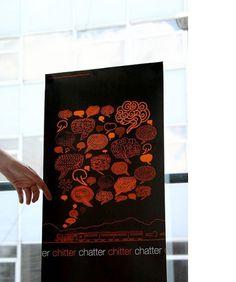 Image Bank - Case Studies - Agency - YCN #train #phone #orange #chatter #illustration #chitter