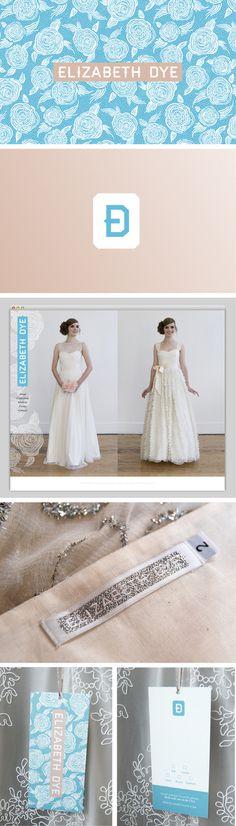 Elizabeth Dye / Branding by Namesake #fashion #logo #pattern #branding