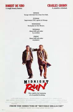 Midnight Run (1988) #movie #poster #cinema