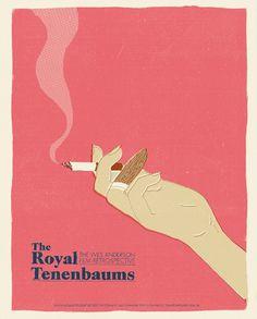 Wes Anderson Poster Series J. Chris Schwartz