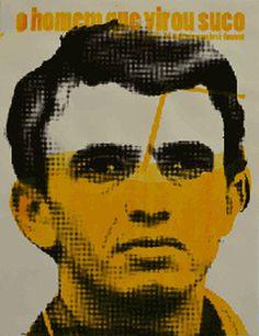 Poster for the movie O homem que virou suco #poster #movie #silkscreen