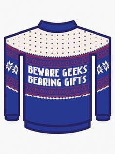 BLDGWLF #christmas #sweater #geek #cool