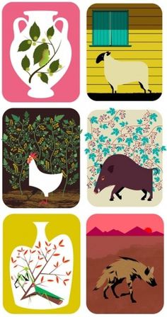 design work life » cataloging inspiration daily #illustration #animals