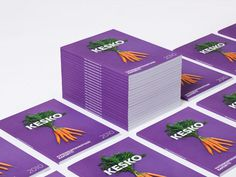 KESKO Identity on Behance #cover #carrots #editorial #magazine