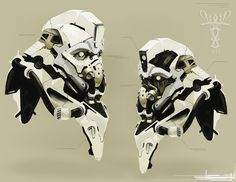 concept robots: Concept robot art by Andrew Ley
