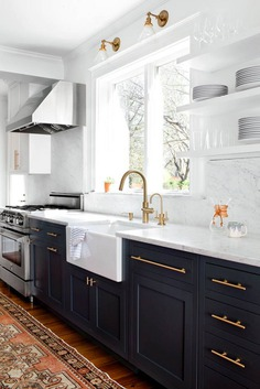 Brass And Marble Kitchen Makeover