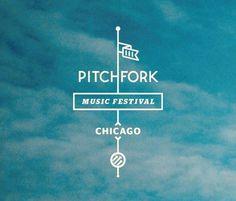 Pitchfork Music Festival #festival #simple #identity #symbol #music #logo