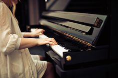 Playing the piano #music #piano