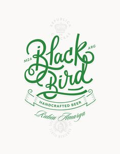 beer, green, blackbird, simplicity, fox, tag, beer tag, package, label