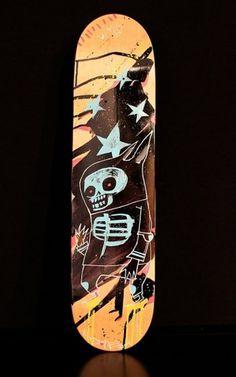 1.jpg (JPEG Image, 540×864 pixels) #skull #jim mahfood #skate deck