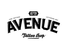 87th Avenue Tattoo shop on the Behance Network #xc