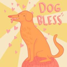 Dog Bless by Jonas Welin