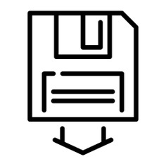 See more icon inspiration related to backup, save, arrow, copy, diskette, security and multimedia on Flaticon.