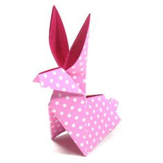 How to make a traditional origami moon rabbit (http://www.origami-make.org/howto-origami-rabbit.php)