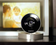 Simplicam HD WiFi Home Video Monitoring Camera #tech #flow #gadget #gift #ideas #cool