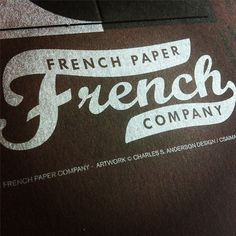 Fresh new paper promotion from French | Allan Peters' Blog #logo