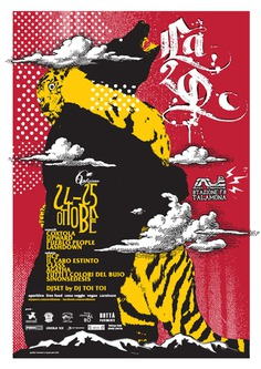 la2d 2014 gig poster