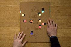 - gaîté lyrique : HELMO #cover #diecut