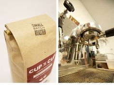 Cup to Cup Coffee Roasters by Focus Lab, LLC #coffee #stamp #labels
