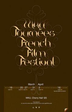 Breathtaking Typographic Posters | Smashing Magazine #design #swirls #poster #typography