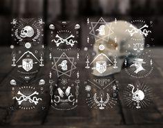 Bella Martribus Detestas #illustration #skull